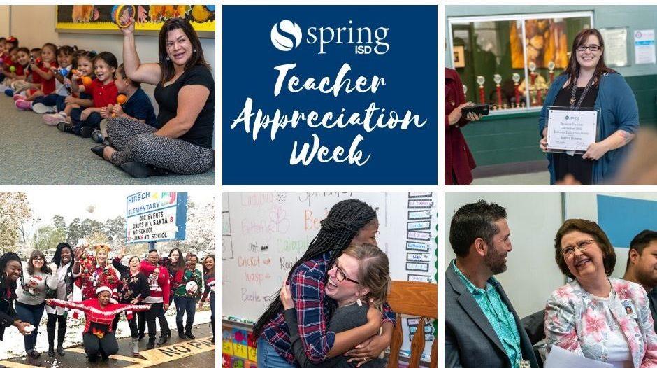 Spring ISD Teacher Appreciation Week